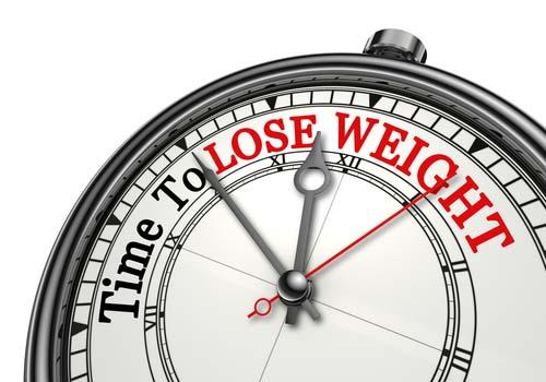 perdre du poids après la selle