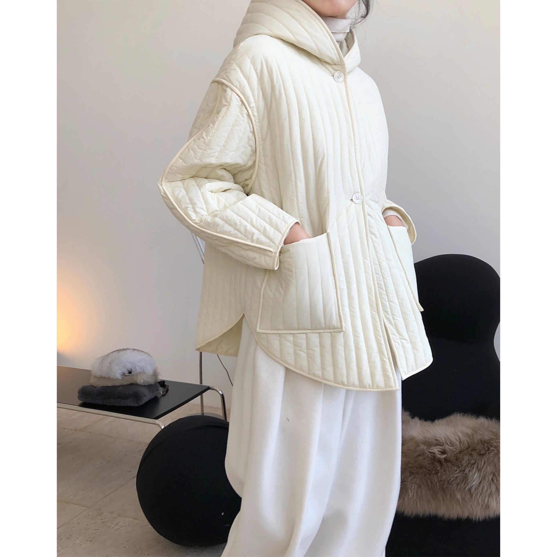 Prêt à porter Veste matelassé 'Belted' pour Femmes