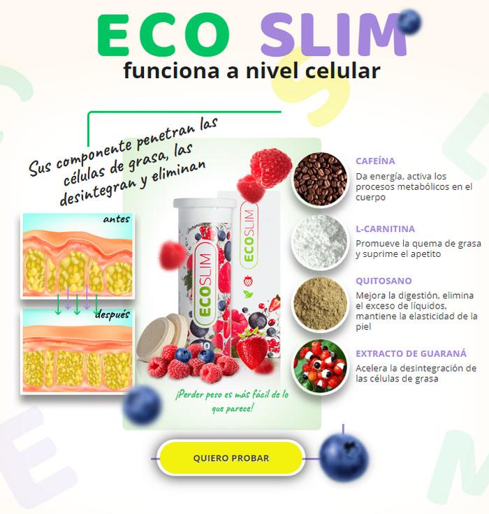 efectos secundarios del eco slim