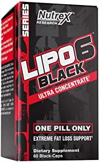 LIPO 6 BLACK HOMMES est le meilleur brûleur de graisse pour homme