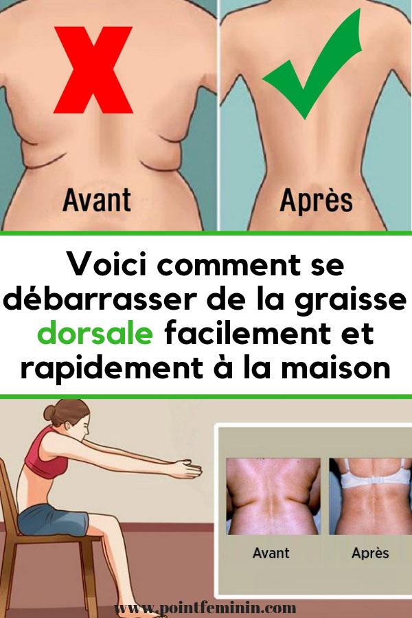 comment perdre du poids dans le haut du dos