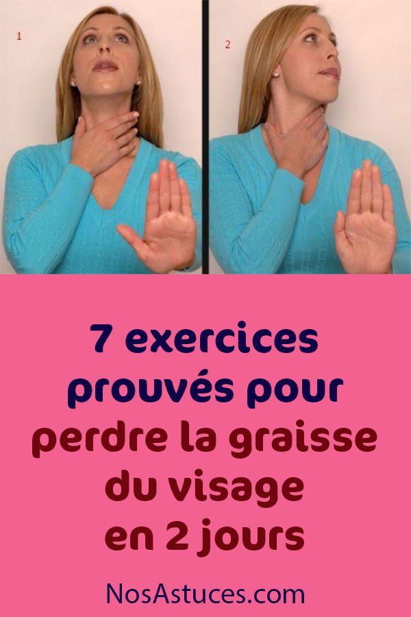 conseils pour perdre la graisse du visage