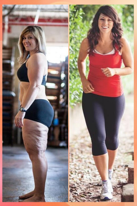 histoires de perte de poids santé des femmes