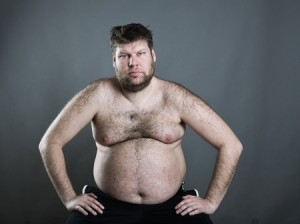 homme gras perdre