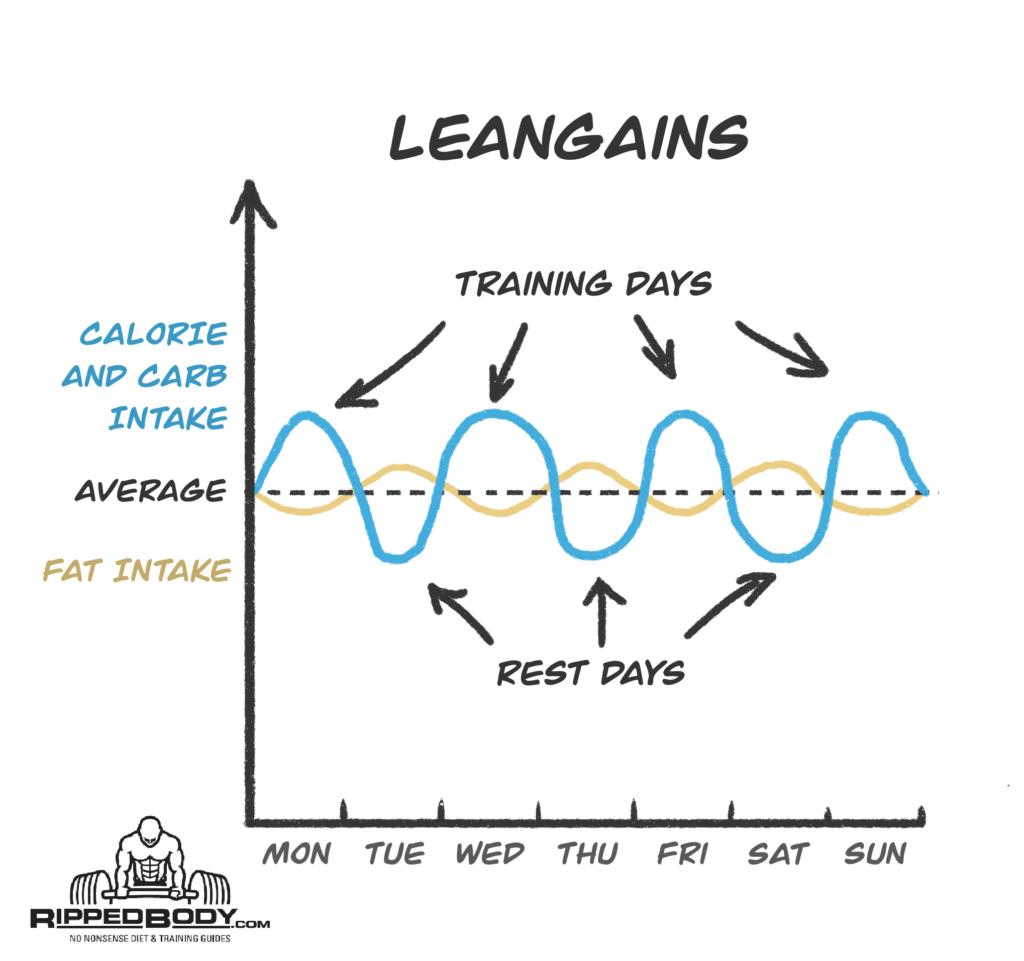 macros leangains pour la perte de graisse