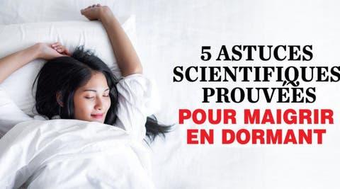 meilleure façon de perdre de la graisse en dormant