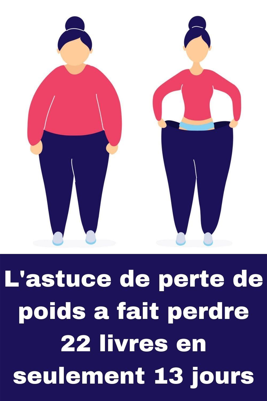 Perdre 7 kilos en 20 jours