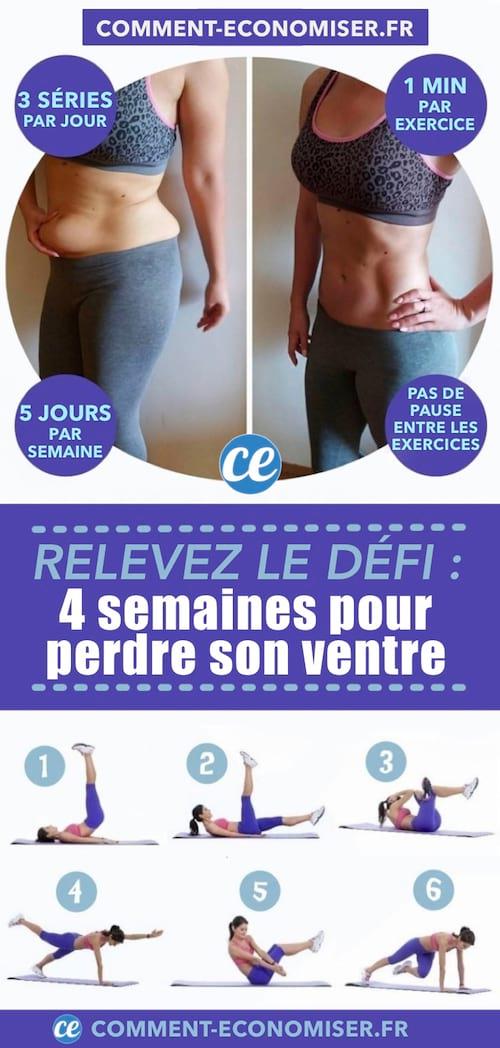 [Sport ] 9 exercices pour perdre du ventre en 2 semaines - Ayana Webzine