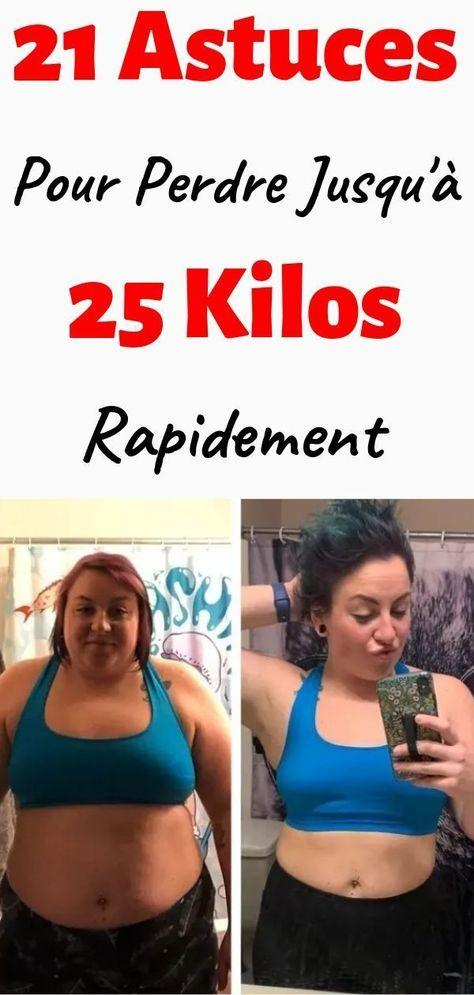 perte de poids 25 kg