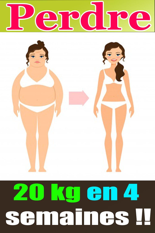 perte de poids 4 semaines