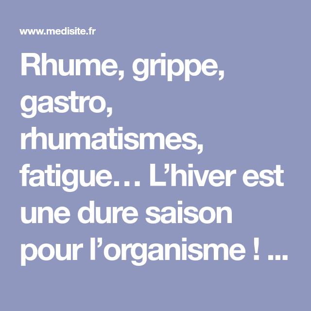 Rhume:perte de poids? sur le forum Musculation & Nutrition - - gestinfo.fr