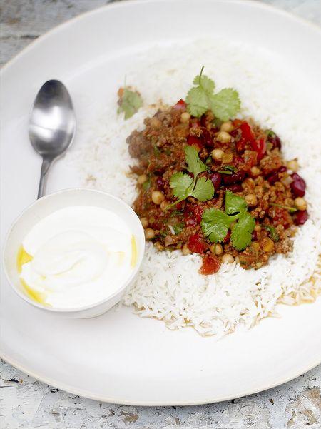 Chili con carne nutrisaveur