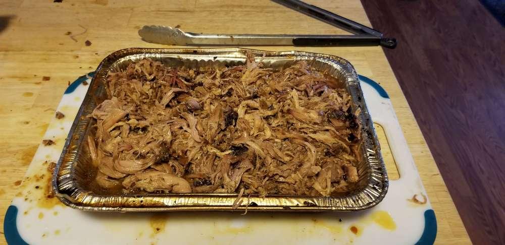 Porc effiloché barbecue
