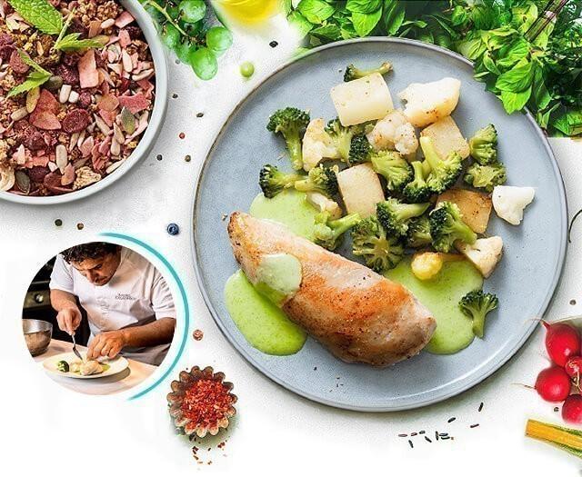 repas de perte de poids par jour
