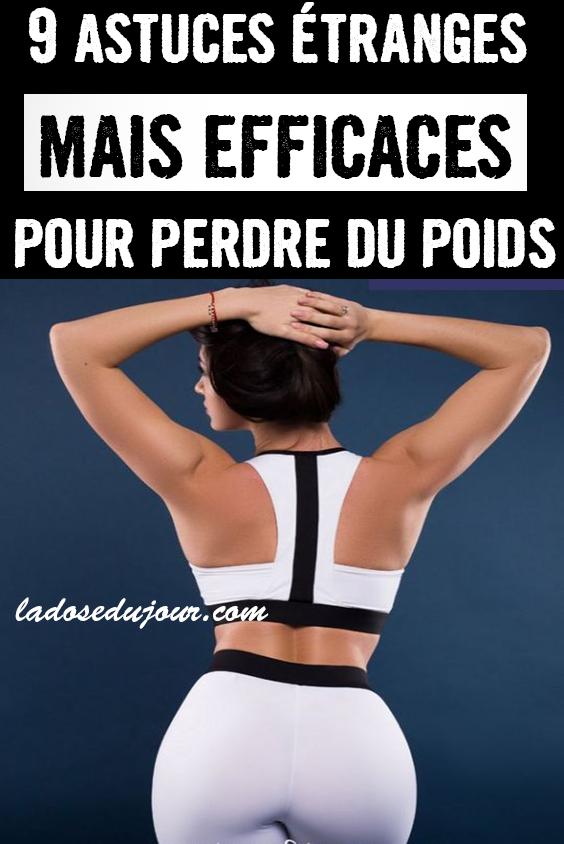 11 trucs bizarres mais très efficaces pour maigrir