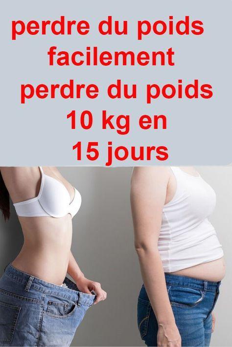 jai 15 jours pour perdre du poids