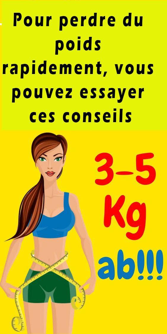 perdre du poids rapidement en 6 mois