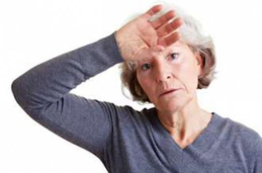 les bouffées de chaleur entraînent une perte de poids