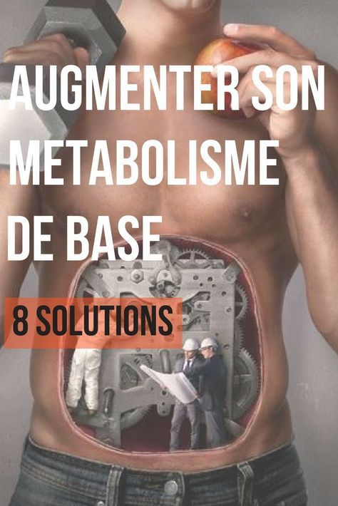 augmentation naturelle métabolisme perte de poids