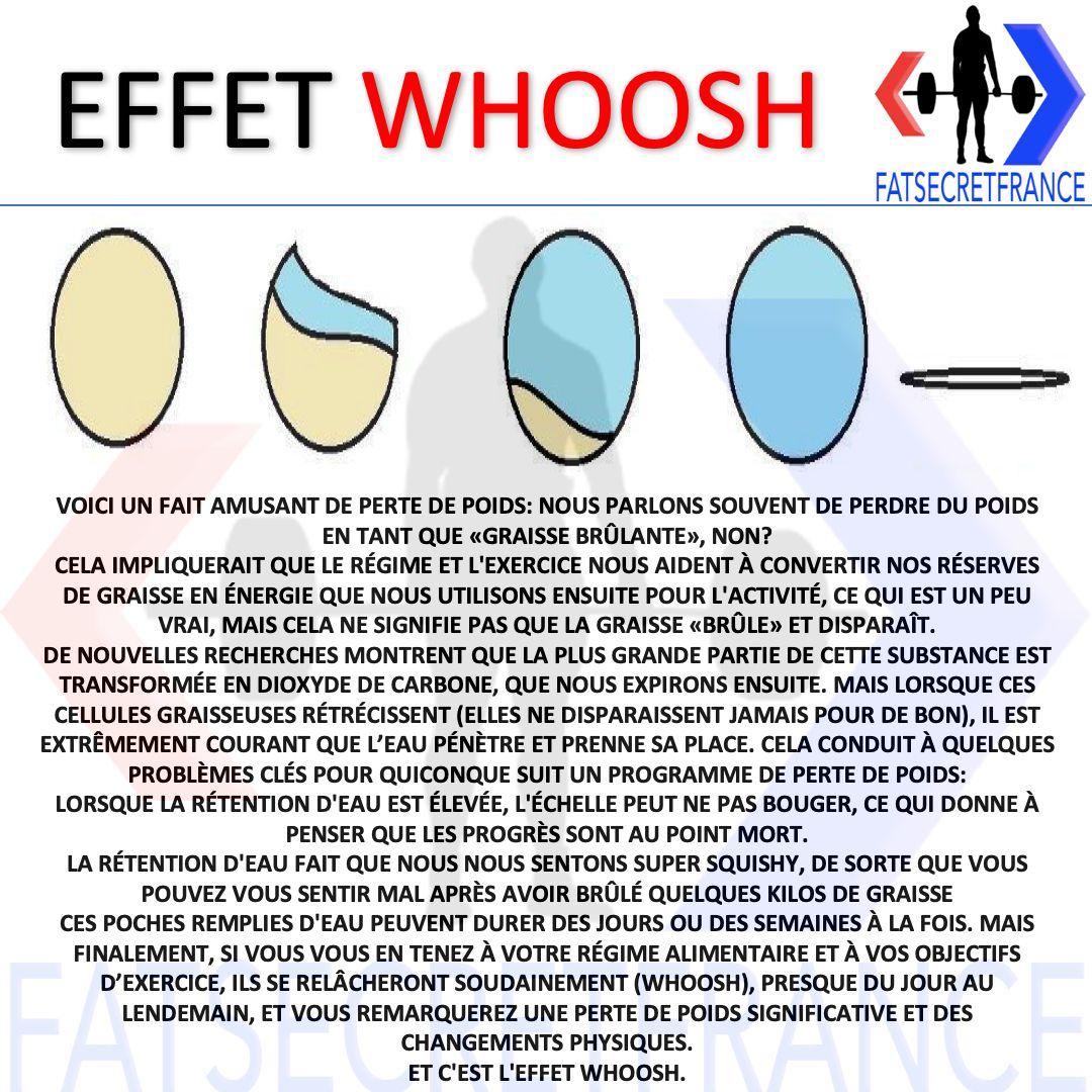 Choc de votre corps contre la perte de graisse whoosh - Aptitude - 2021