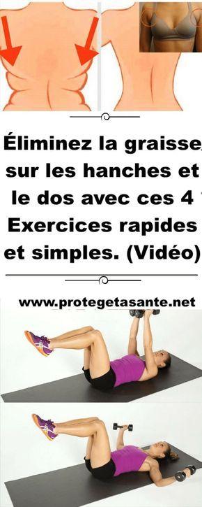 perdre du poids sur le ventre et les hanches