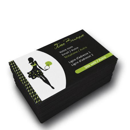 cartes de visite pour perdre du poids