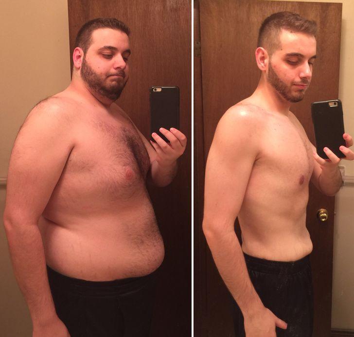 les hommes de plus de 40 ans perdent du poids
