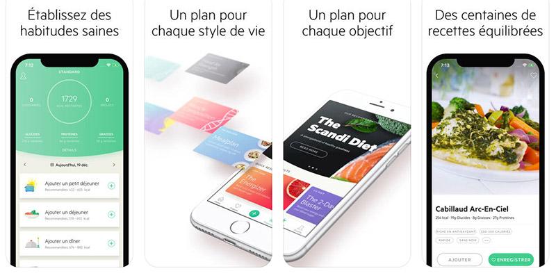meilleure application iOS pour perdre du poids jolis hauts minceur