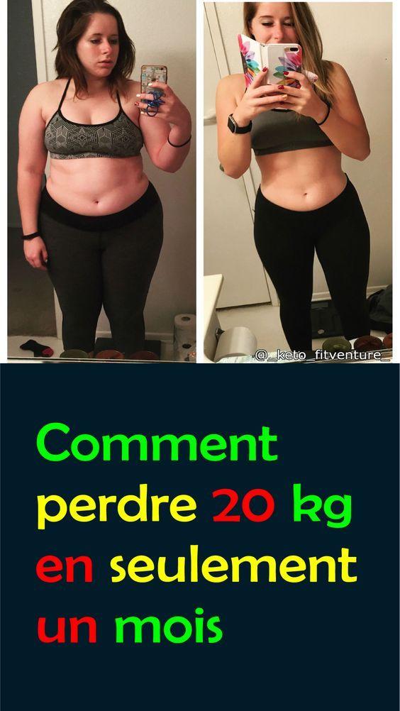 40 kg de perte de poids en un mois