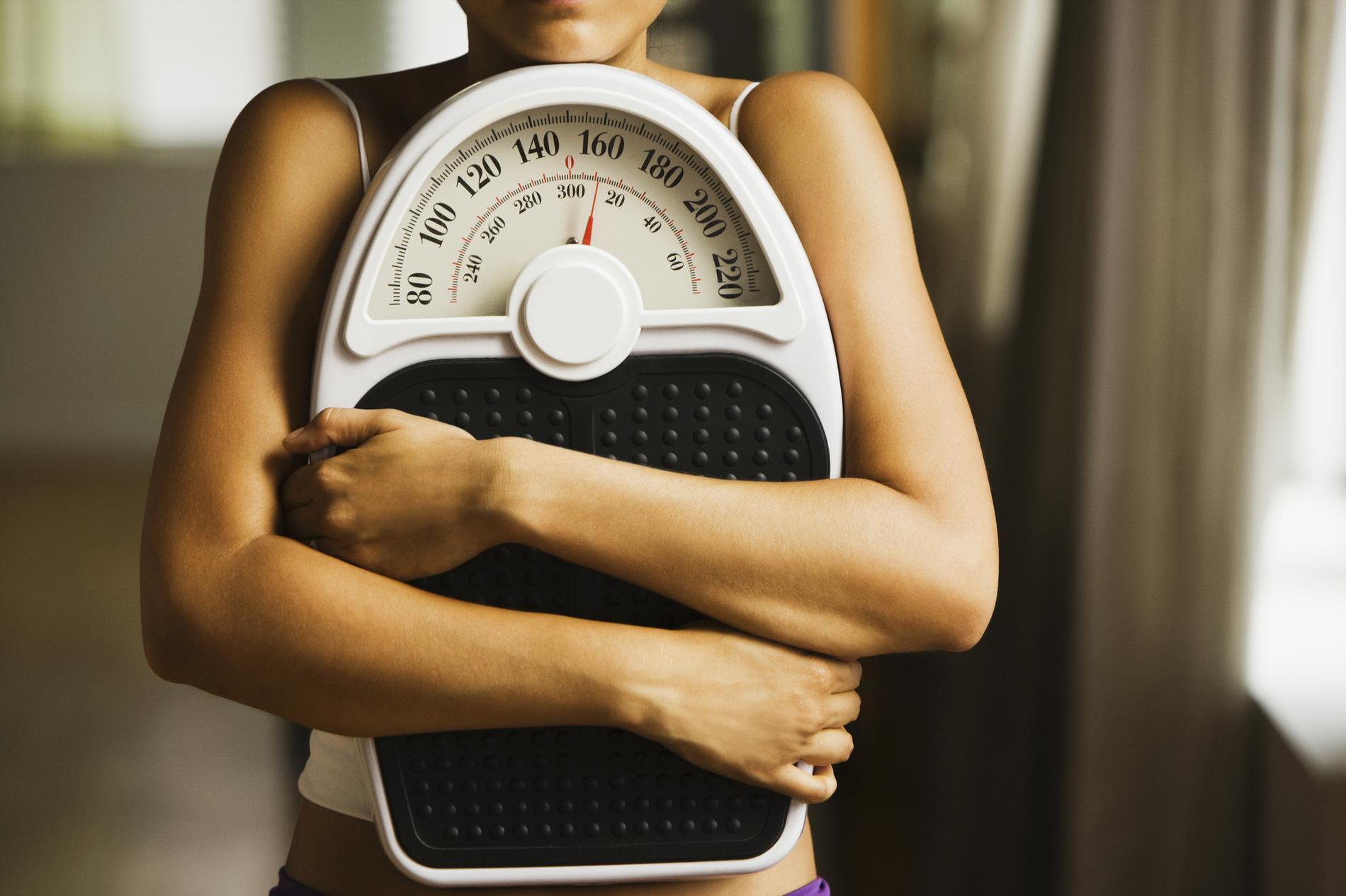 Le cerveau décide de notre poids, pas nous