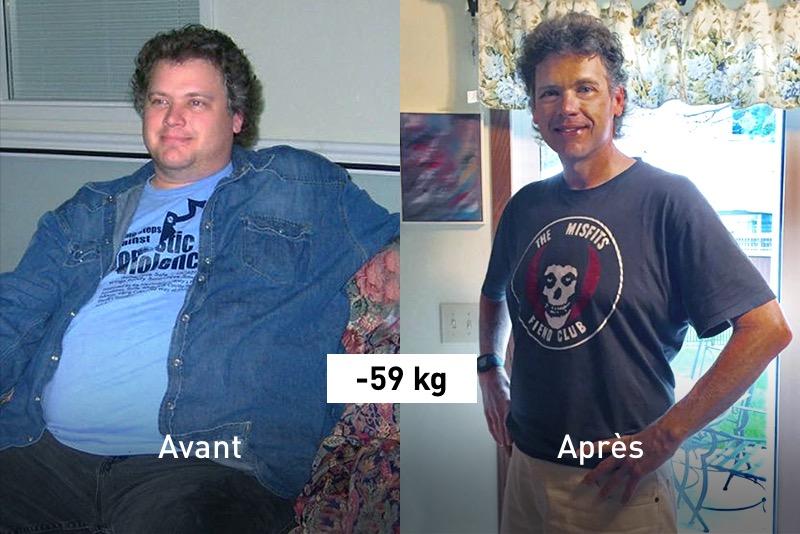 perte de poids après 50 histoires de réussite