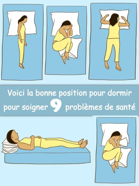 meilleure position de sommeil pour perdre de la graisse