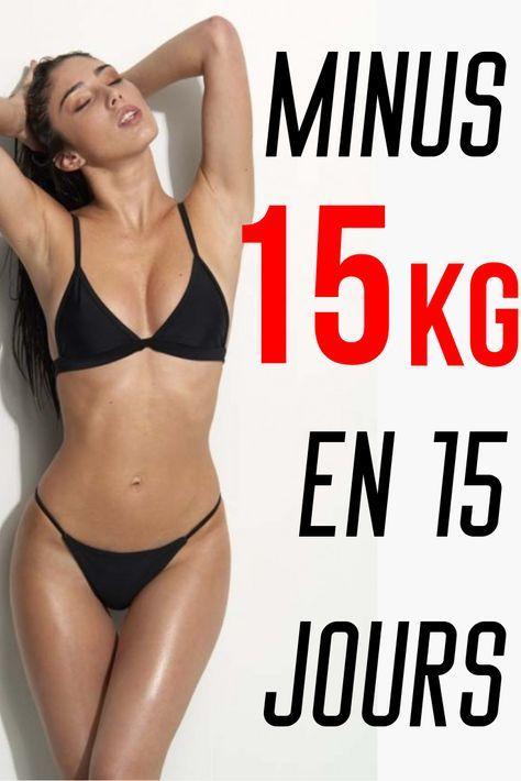 perte de poids 15 jours