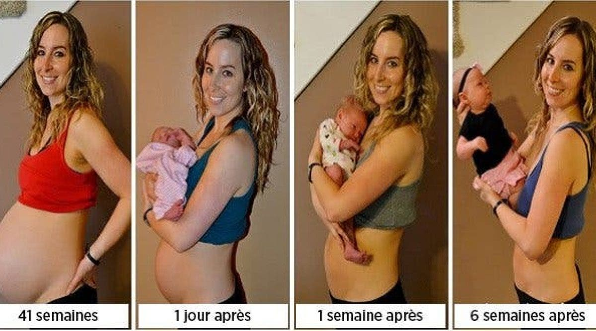 après laccouchement, perdez-vous du poids