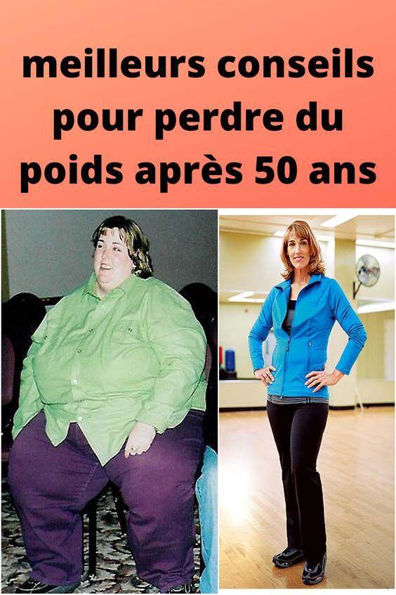 conseils pour perdre du poids à 50 ans