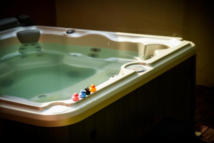 comment perdre du poids dans un bain à remous