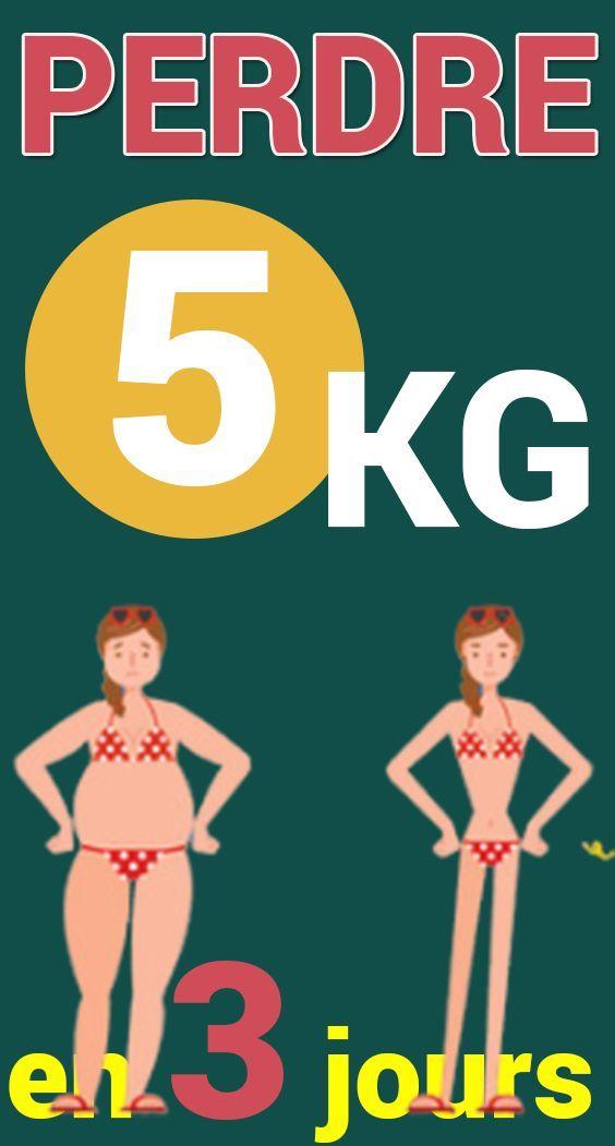comment perdre du poids en trois jours