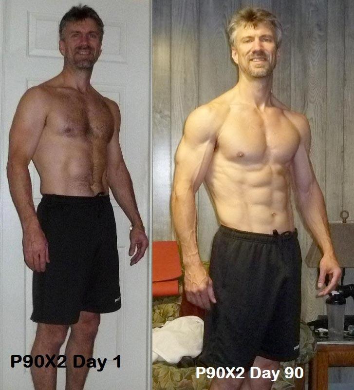 Résultats de perte de poids p90x2