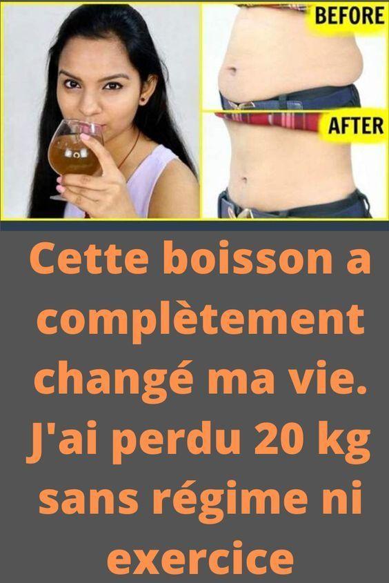la perte de poids a changé ma vie