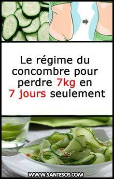 perdre du poids rapidement avec du concombre