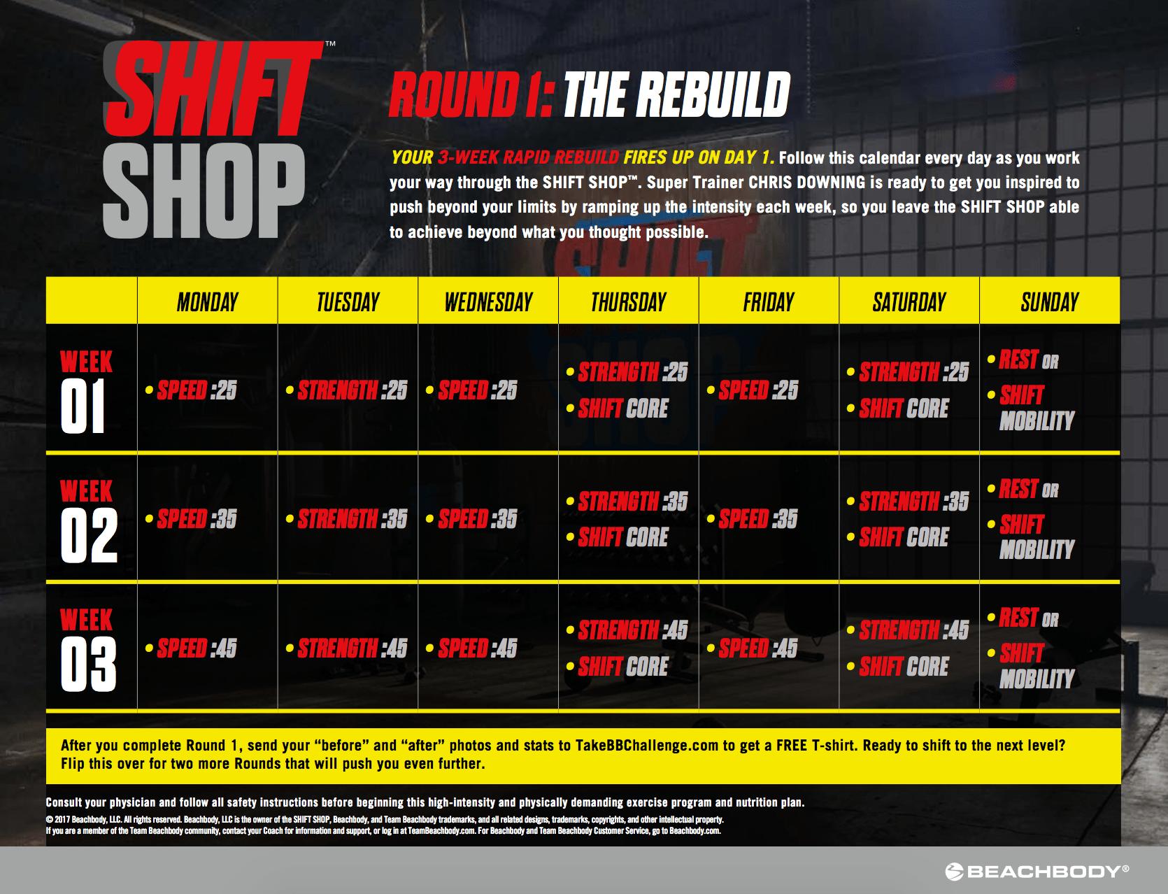 Shift Shop pas de perte de poids Roller perte de poids Arkansas