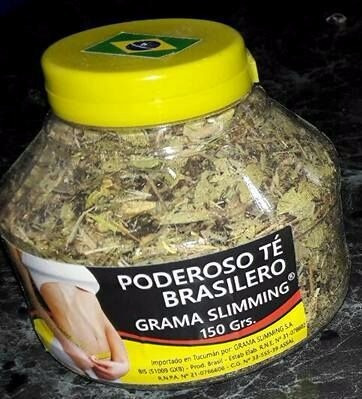 te brasilero grama minceur