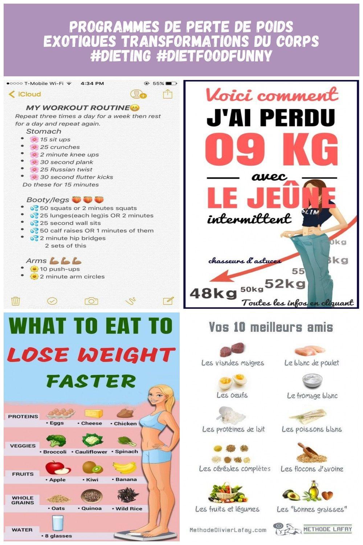 transformations drastiques de perte de poids